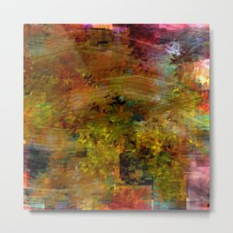 Decorative Abstract Metal Print