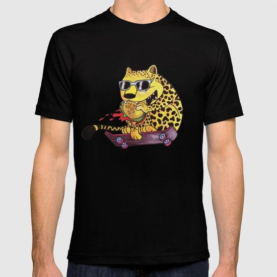 Skating Cheetah T-shirt
