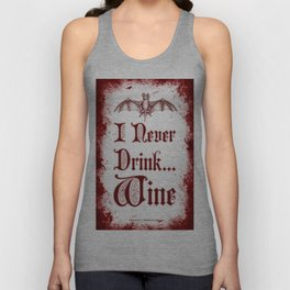 Drink Responsibly Unisex Tank Top