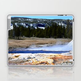 Castle Geyser-Yellowstone Laptop & iPad Skin