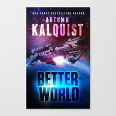 Better World Spaceship Canvas Print