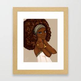 Loving Me Framed Art Print
