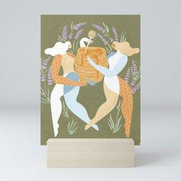 Milk & honey Mini Art Print