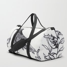 Crystal Raven Duffle Bag