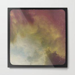 Fire Nebula Metal Print