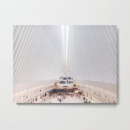 World Trade Center, Oculus Metal Print