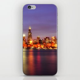Chicago at Night iPhone Skin