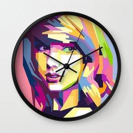 Swift Pop Art Wall Clock