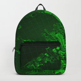 Future City Green Backpack