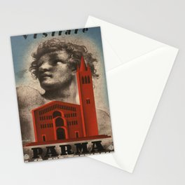 Vintage poster - Parma Stationery Cards