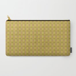 1982 est. New Plaid Two Carry-All Pouch