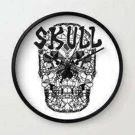 Skull - Día de Muertos / Day of the Dead Wall Clock
