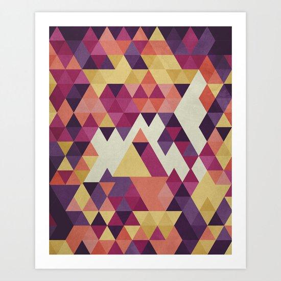 Geometri III Art Print