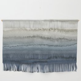 WITHIN THE TIDES - CRUSHING WAVES BLUE Wall Hanging