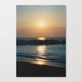 Sunset Ocean Bliss #6 #nature #art #society6 Canvas Print