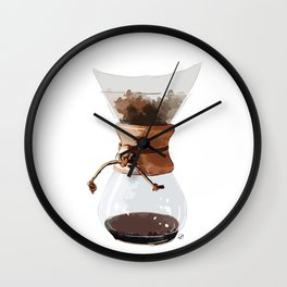 Pour Over Wall Clock