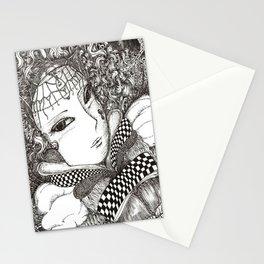 Carnival lady Stationery Cards
