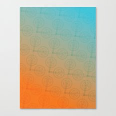 Crank (Gradient) Canvas Print