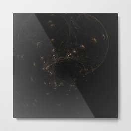 Geometric Cosmic Light 127 Metal Print