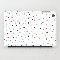 confetti iPad Cases featuring CONFETTI by KIND OF STYLE