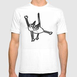 pose kat T-shirt