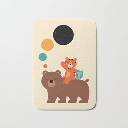 My Little Explorer Bath Mat