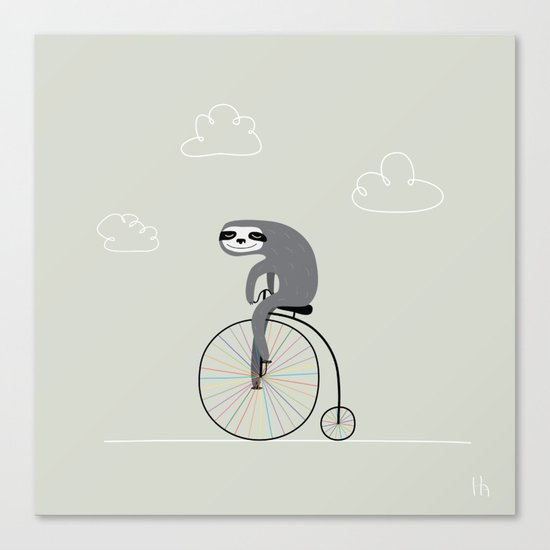 The Happy Ride Canvas Print