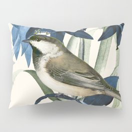 Little Bird and Flowers II Pillow Sham