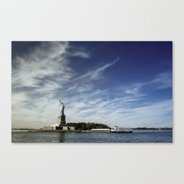Statue of Liberty 2. Canvas Print