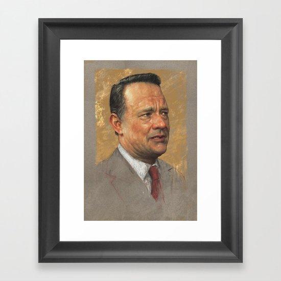 Tom Hanks Framed Art Print