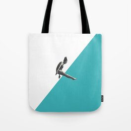 Diver (turquoise) Tote Bag