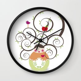 Pachamama Wall Clock