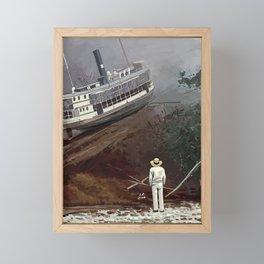 Fitzcarraldo Illustration Framed Mini Art Print