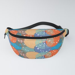 Water Polo Pattern Fanny Pack