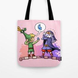 Legend of Zelda Vaati and Link T-Shirt Tote Bag