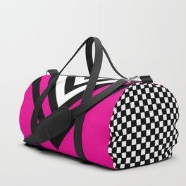 TCR- sports -pink Duffle Bag