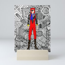 Heroes Fashion 4 Mini Art Print