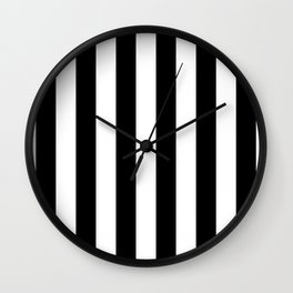 Stripe's Vertical HD by JC LOGAN Wall Clock