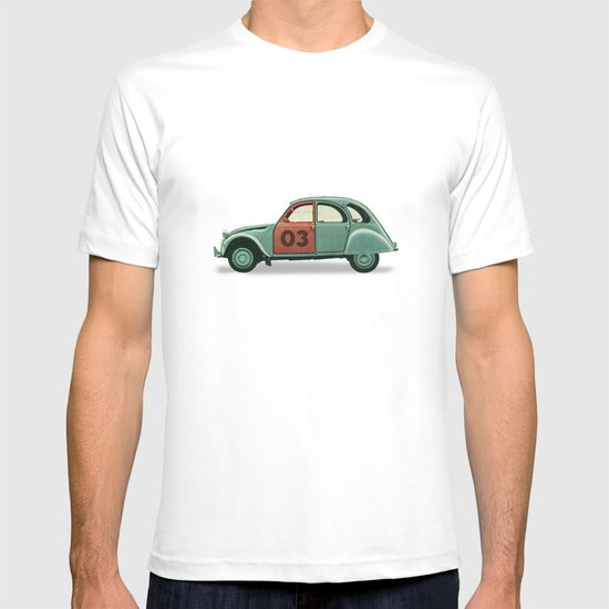 Number 03 _ Citron 2CV T-shirt