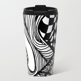 Zentangle #23 Travel Mug