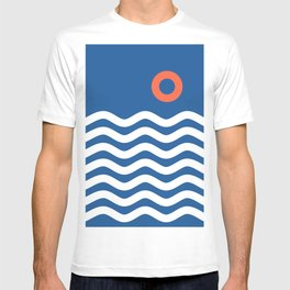 Nautical 03 Seascape T-shirt