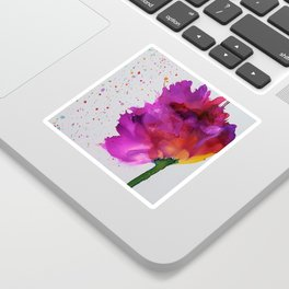 Burst of Color Sticker