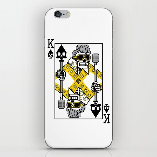 Dead King Card iPhone Skin