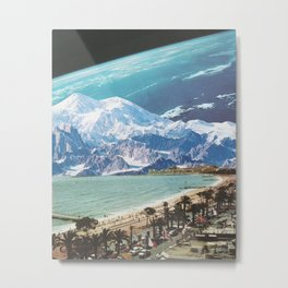 Blue Cosmos Metal Print