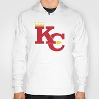 kansas city Hoodies featuring Kansas City Sports Red by Haley Jo Phoenix
