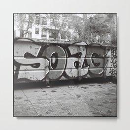 SOAG Metal Print