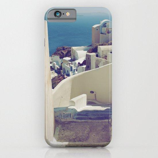 Santorini Stairs IV iPhone & iPod Case