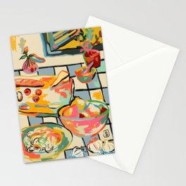 BREAD AND PASTA LOVE  Stationery Cards