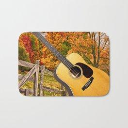 Country Music Bath Mat