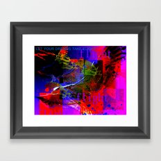 Let Your Dreams Take Flight Framed Art Print